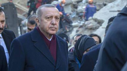 Başkan Erdoğan'dan Elazığ paylaşımı: Biz size hizmetkarız