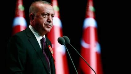 Cumhurbaşkanı Erdoğan'dan son dakika açıklamalar