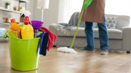 Doğru temizlik nasıl olur? Evinizi corona virüsünden temizleme yolları...