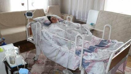 Doğum yaptığı sırada 2 kez kalbi durdu! Hayata döndü ancak yatağa bağımlı hale geldi