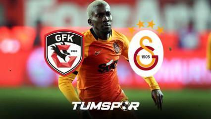 Gaziantep FK Galatasaray maçının geniş özeti ve golleri!