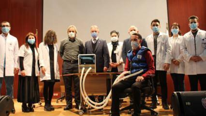 Koronavirüs hastaları daha rahat nefes alsın diye milli cihaz geliştirildi!