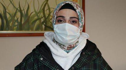 Koronavirüsü atlatan hemşire 8 aylık bebeğinden ayrı kaldığı günleri unutamıyor