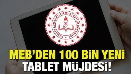 Tablet dağıtımı için MEB'den yeni karar! Şubat ayı 100 bin tablet başvurusu nasıl yapılır?