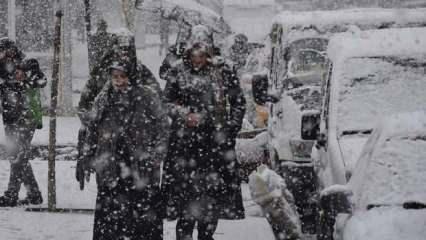 Meteoroloji saat vererek uyardı: Yoğun kar yağışı geliyor