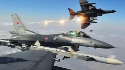 Milli Savunma Bakanlığı paylaştı: Türk F-16'ları Doğu Akdeniz'de uçtu!