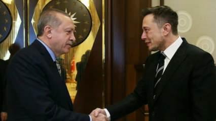 Erdoğan-Musk görüşmesi sonrası heyecanlandıran açıklama: Yeni dönemin ilk sinyali...