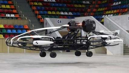 Rusya uçan taksiyi tanıttı