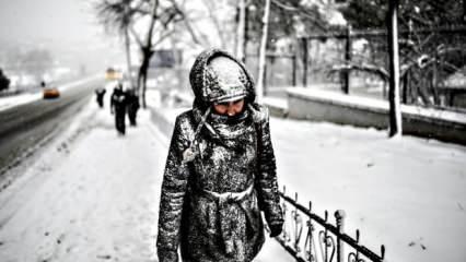 Meteoroloji ve AKOM uyarmıştı! İstanbul'da kar yağışı başladı...