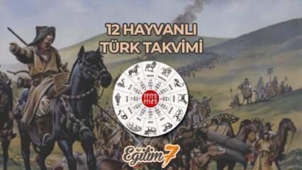 12 Hayvanlı Türk Takvimi nedir? 12 Hayvanlı Türk Takvimini kullanan devletler hangileridir?