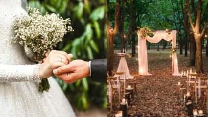 2021 düğün trendlerinde neler var? 2021 düğün dekorasyon trendleri