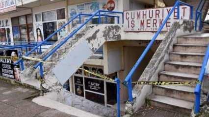İzmir'de deprem fırtınasının ardından 22 dükkana tahliye