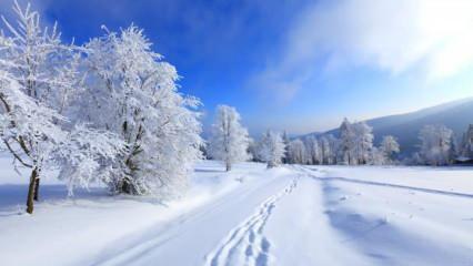 Rüyada karda yürümek neye işaret? Rüyada lapa lapa kar yağdığını görmek hayırlı mıdır?