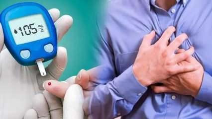 Şeker hastalığına dikkat! Kalp damar hastalığı riskini 4 kat arttırıyor