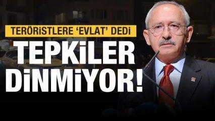 Son dakika: Kılıçdaroğlu teröristlere 'evlat' diyerek çağrı yaptı! Tepkiler peş peşe...