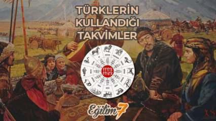 Tarih boyunca Türklerin kullandığı takvimler nelerdir? Türkler hangi takvimleri kullandı?