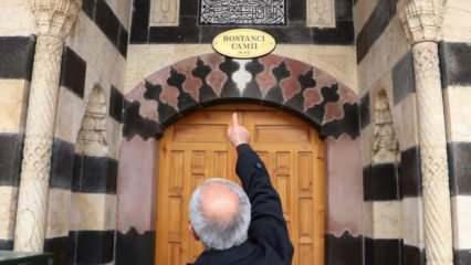 5 asırlık camide döner taşlı deprem düzeneği! Sütunlardan biri hala dönüyor