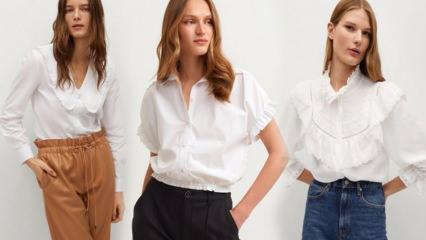 Beyaz gömlek nasıl kullanılır? En şık beyaz gömlek modelleri