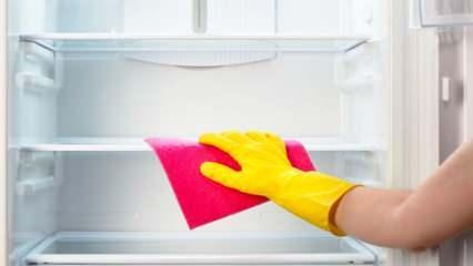 Buzdolabı nasıl temizlenir? Sararan buzdolabı nasıl temizleme yöntemleri...