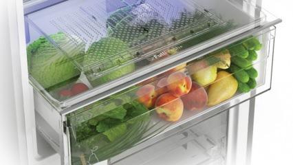 Buzdolabının sebzelik gözü ne işe yarar, nasıl kullanılır?