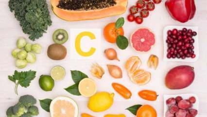 C vitamini faydaları nelerdir? Günlük C vitamini ihtiyacı karşılayan besinler nelerdir?