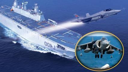 Cihat Yaycı uyardı! TCG Anadolu'ya F-35B'lerin yerine Harrierlar gelebilir