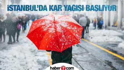 HAVA DURUMU 12 ŞUBAT! İstanbul'a kar ne zaman yağacak? Meteoroloji vatandaşları uyardı...