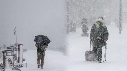 Meteoroloji uyarısı! Tüm Türkiye donacak, İstanbul'da kar alarmı