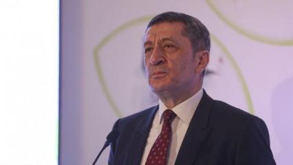 Milli Eğitim Bakanı Selçuk'tan yüze eğitim açıklaması geldi
