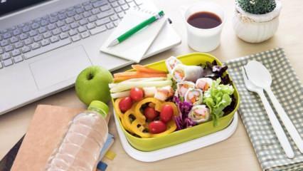 Ofiste diyet nasıl yapılır? Çalışanlar için metabolizma hızlandıran diyet