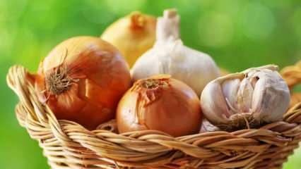 Soğan ve sarımsak kürü faydaları nelerdir? Soğan ve sarımsağın kürü nasıl hazırlanır?