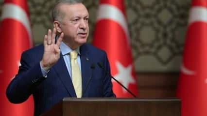 Başkan Erdoğan'dan heyecanlandıran açıklama: Çarşamba gününü bekleyin...