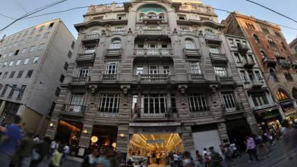 Tarihi Mısır Apartmanı nerede? Mısır Apartmanı'nda kimler oturdu? Mısır Apartmanı geçmişi