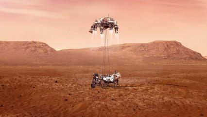 2.5 milyon Türk vatandaşının ismi Mars'a gidiyor