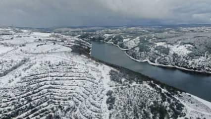4 günlük kar yağışının ardından İstanbul barajlarındaki doluluk oranı belli oldu