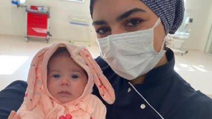 Afgan annenin hastanede bıraktığı bebeğe sağlıkçılar sahip çıktı