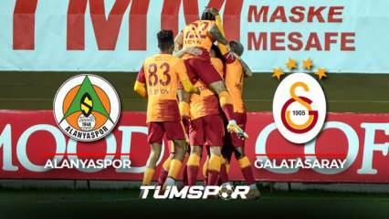 Alanyaspor Galatasaray maçı BeIN Sports geniş özeti ve golleri! | Galatasaray deplasmanda galip