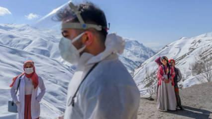 Aşı ekiplerinin zorlu mesaisi yabancı basının gündeminde