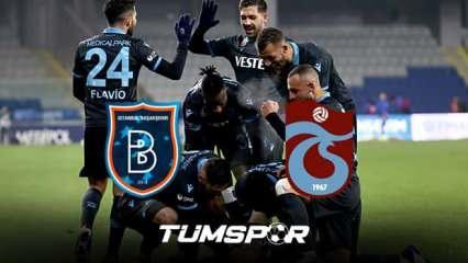 Başakşehir Trabzonspor maçı BeIN Sports geniş özeti ve golleri! | Yusuf attı Trabzon kazandı!