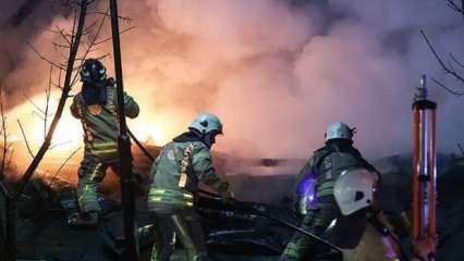 Boğaziçi Üniversitesi'nde korkutan yangın