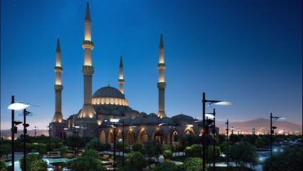 Camiye girerken ve çıkarken okunacak dua! Mescitte kılınan Tahiyyetül Mescid namazı kılınışı