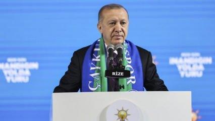 Cumhurbaşkanı Erdoğan 'Gebertildi' diyerek terörist sayısını açıkladı