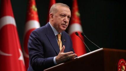 Erdoğan'dan son dakika yüz yüze eğitim açıklaması