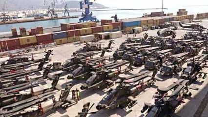 ABD ve Yunanistan'dan 'Dedeağaç' anlaşması! 145 helikopter ve tank Türkiye sınırında