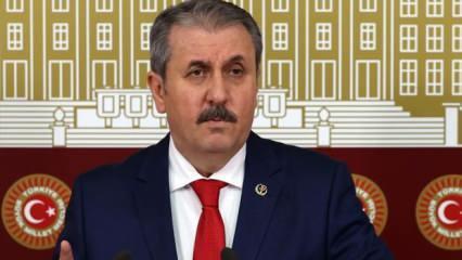 BBP lideri Destici'den İstanbul Sözleşmesi'nin feshedilmesine ilişkin açıklama