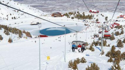 Ergan Dağı Kış ve Doğa Sporları Merkezi nerede? Ergan Dağı Kayak Merkezi'ne nasıl gidilir