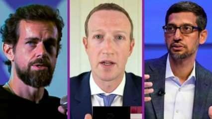 Facebook, Twitter ve Google CEO'ları duruşmaya çıkıyor