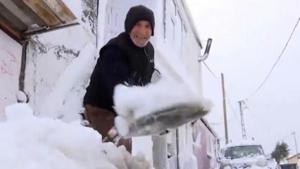İstanbul'da en çok kar yağan ilçe... Sibirya'dan farkı yok!