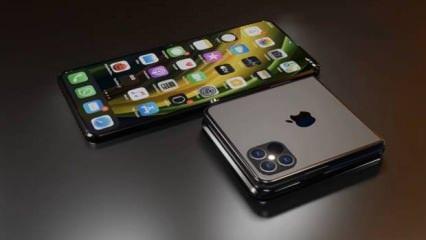 Katlanabilir iPhone ekranı için yeni gelişme