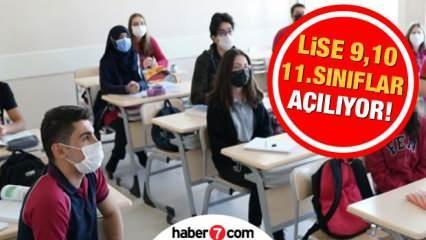 Lise 9,10,11. sınıflar ne zaman okula başlayacak? MEB duyurdu: 1 Mart sonrasında...